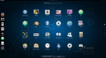 Le menu de Gnome-Shell
